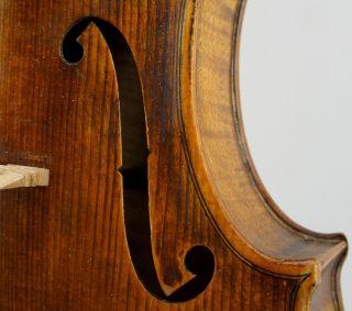 Excellent Antique American Violin - J.  Deulin Detroit,  Michigan - 1923 photo