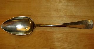 Antique Silver Spoon Silver Plated Alpaca Mark S.  M.  F.  Ws 1892 - 1895, photo