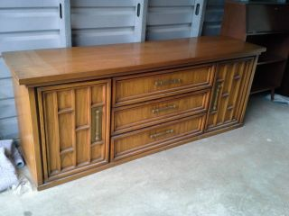 United Furniture Corporation Vintage Credenza photo