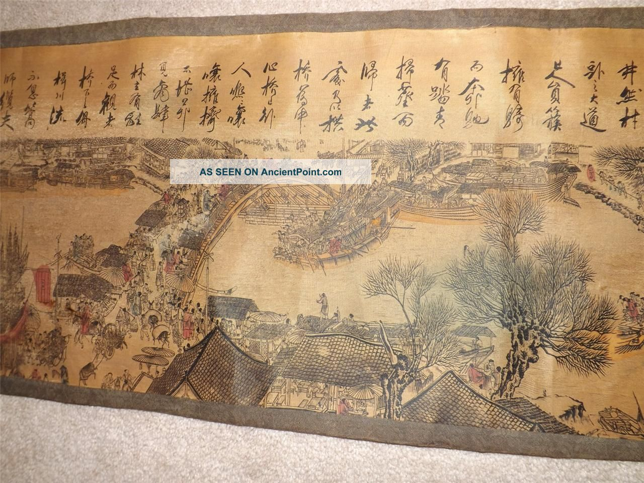 Chinese Landscape Scroll Painting Chinese Scroll Painting