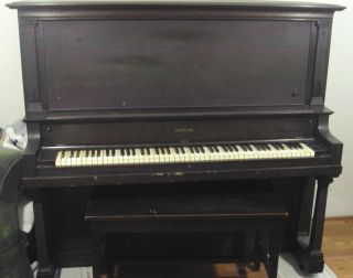 1920 Sterling Upright Piano, ,  All Keys Function (4069) photo