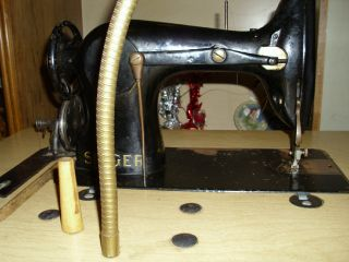 Antique Industrial Singer Sewing Machine photo