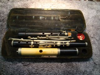Meyer Flute,  Ivory And Ebony,  Low