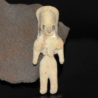 Ancient Indus Valley Idol Figure Fertility Mother Goddess Mehrgarh Rare 2600 Bc photo