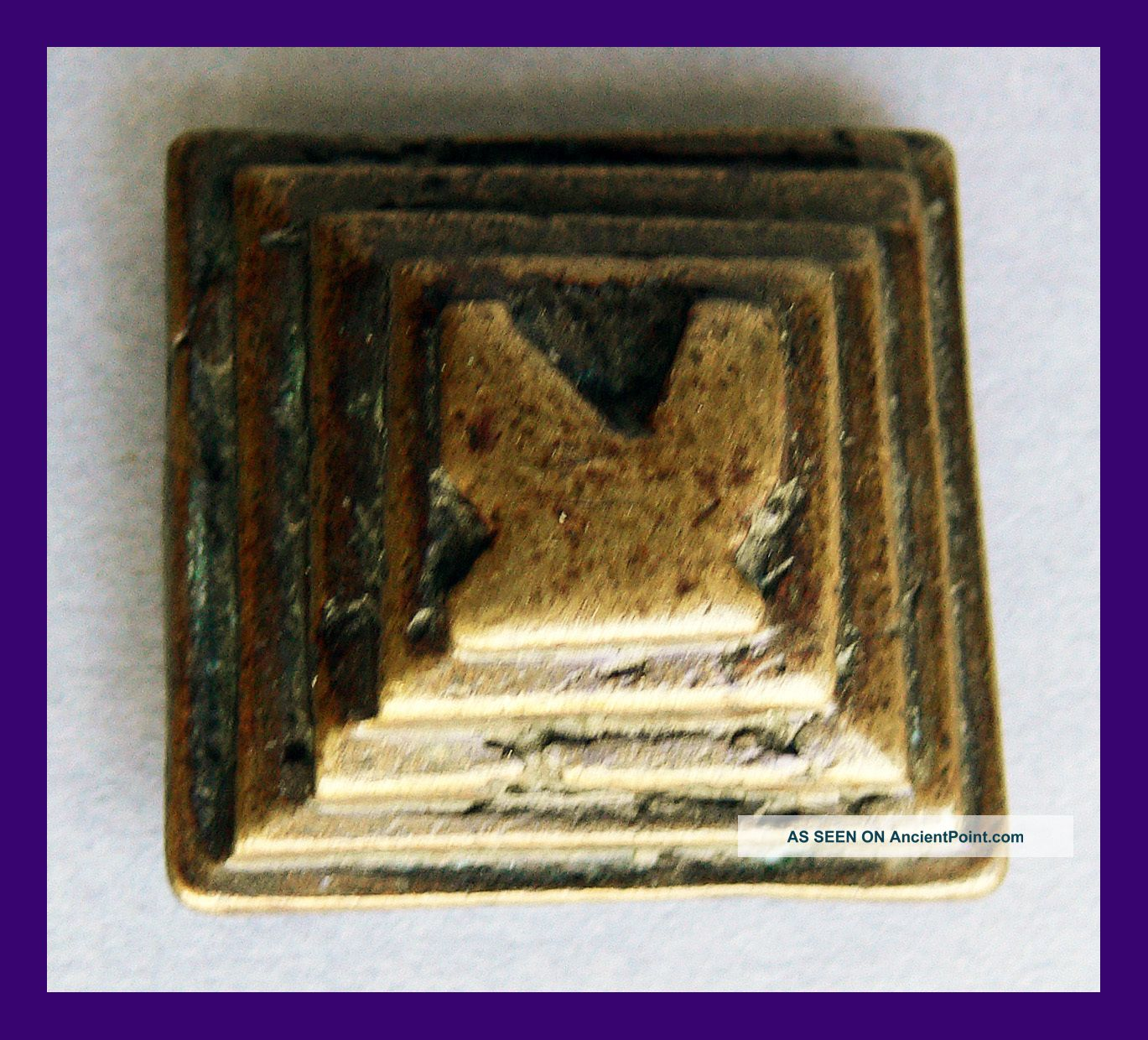 40g Four - Tier Akan Gold Dust Weight,  Circa 1800s,  Ex Gold Coast Other photo