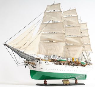 Danmark Training Tall Ship Wooden Model 38