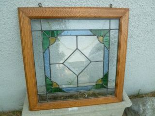 Leaded Glass Stained Glass Hanging Panel 21