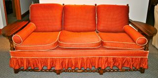1940 ' S Vintage Stickley Brothers ' Sofa photo