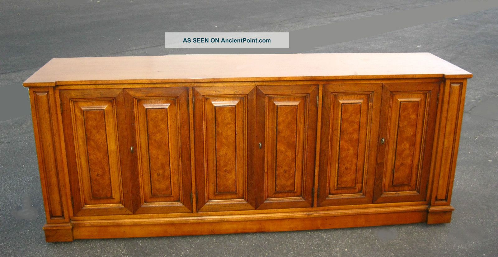 Vintage Mid Century Modern Henredon Town & Country Sideboard Buffet Credenza Post-1950 photo