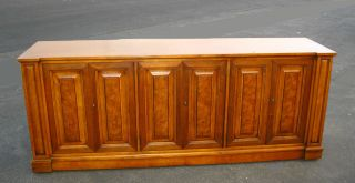 Vintage Mid Century Modern Henredon Town & Country Sideboard Buffet Credenza photo