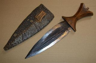 Congo Old African Knife Ancien Couteau D ' Afrique Lobala Africa Afrika Kongo Mes photo