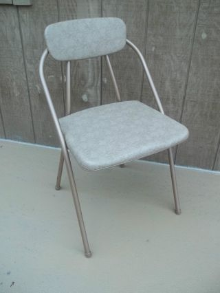 Vtg Mid Century Hamilton Cosco Folding Chair photo
