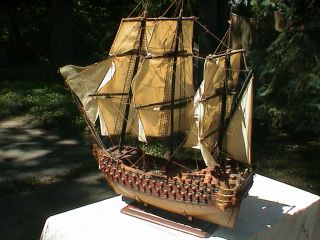 Model Ship Spanish Galleon War Ship 39