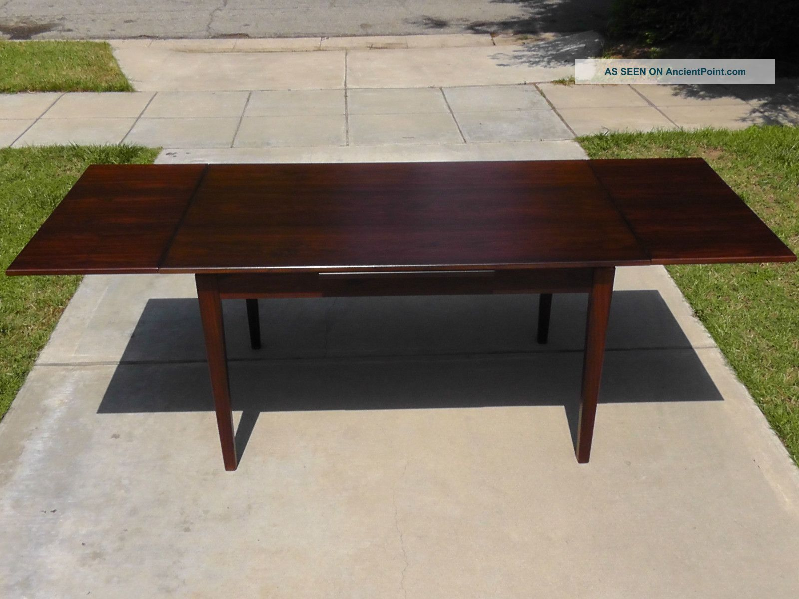 Modern Dining Table Plans: Danish Extendable Dining Table PDF Woodworking