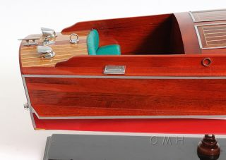 Chris Craft Runabout Wood Model 32