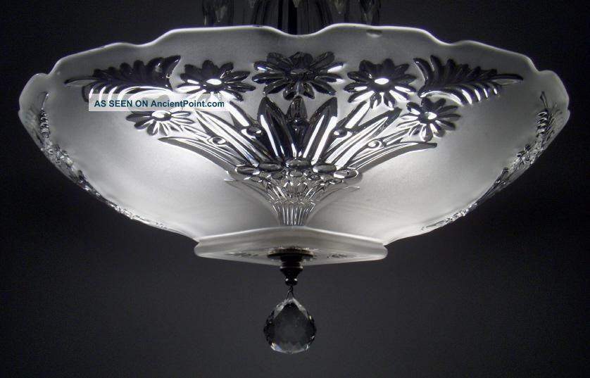 Vintage semi flush ceiling lights