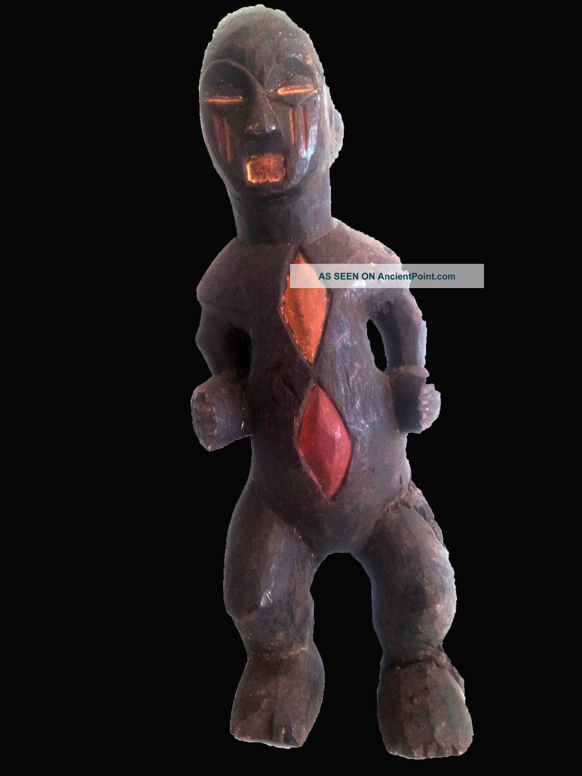 Baule Ceremonial Statue Cote ' Divoire Other photo