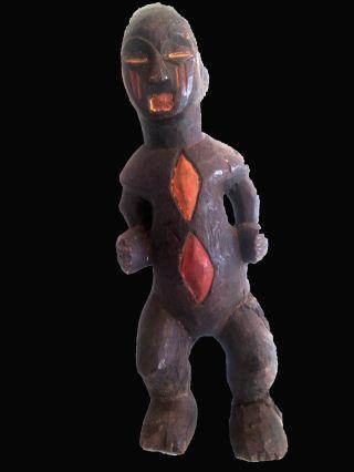 Baule Ceremonial Statue Cote ' Divoire photo
