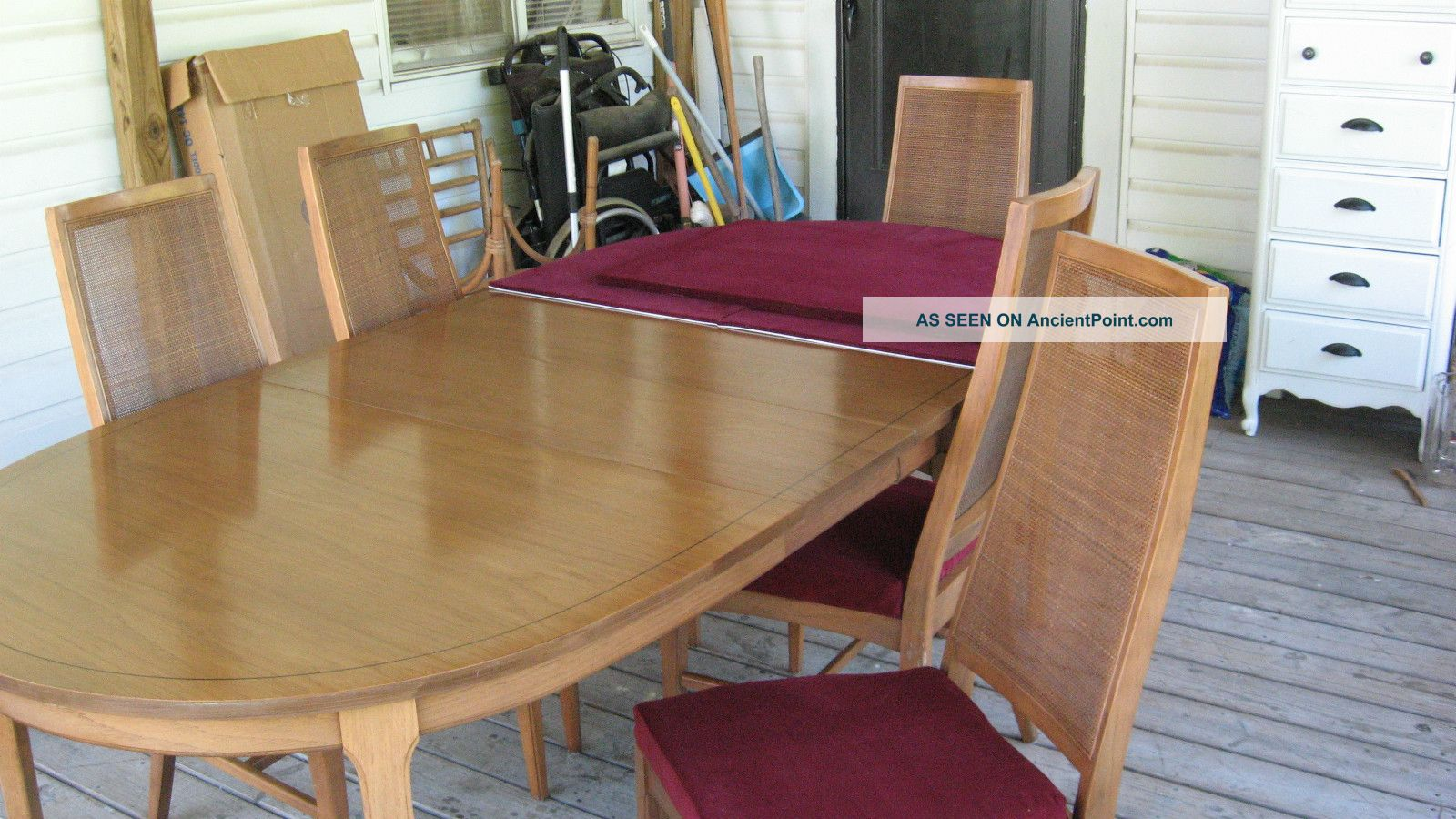 Modern Dining Room Table With Extension