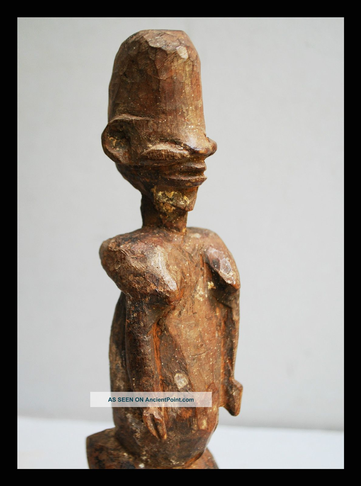 A Detailed And Highly Stylised Statue From Lobi Tribe Of Burkina Faso Other photo