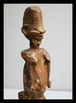 A Detailed And Highly Stylised Statue From Lobi Tribe Of Burkina Faso photo