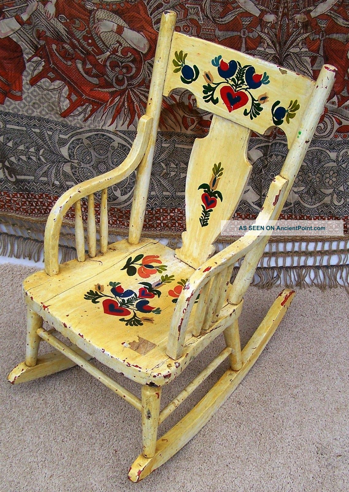 Rocking Chairs On Pinterest Painted Rocking Chairs