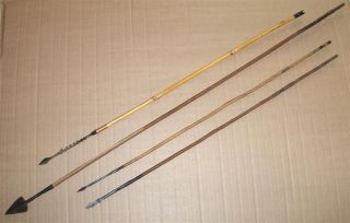 Congo 4 Old African Arrows Flèches Ancienes Afrique Afrika Pijl Kongo Pfeile photo