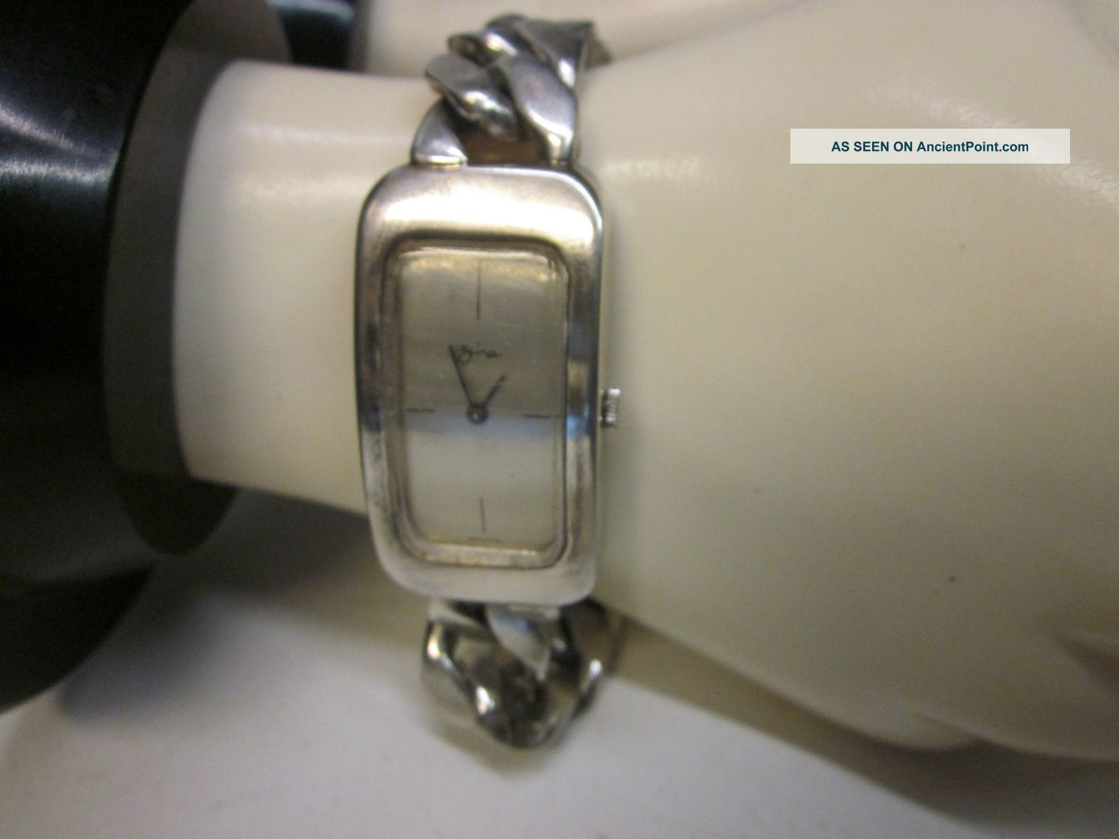 Zina Sterling Silver Link Bracelet Ladies Watch Other photo