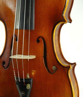 Fantastic German Violin Signed Markus Ebstein C.  1998 4/4 Old Antique Violino photo