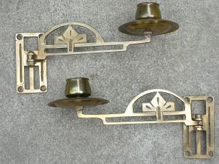 Antique Brass Candelabra For Piano.  Attractive Design. . photo
