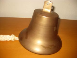 Nautical Marine Solid Cast Brass Ships Bell 8