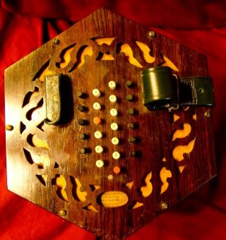 1860 Wheatstone English Concertina Exterior photo