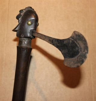Congo Old African Axe Anciene Hache D ' Afrique Luba Shankadi Africa Afrika Kongo photo