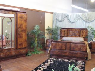 Great Antique Italian Deco Bedroom Set photo