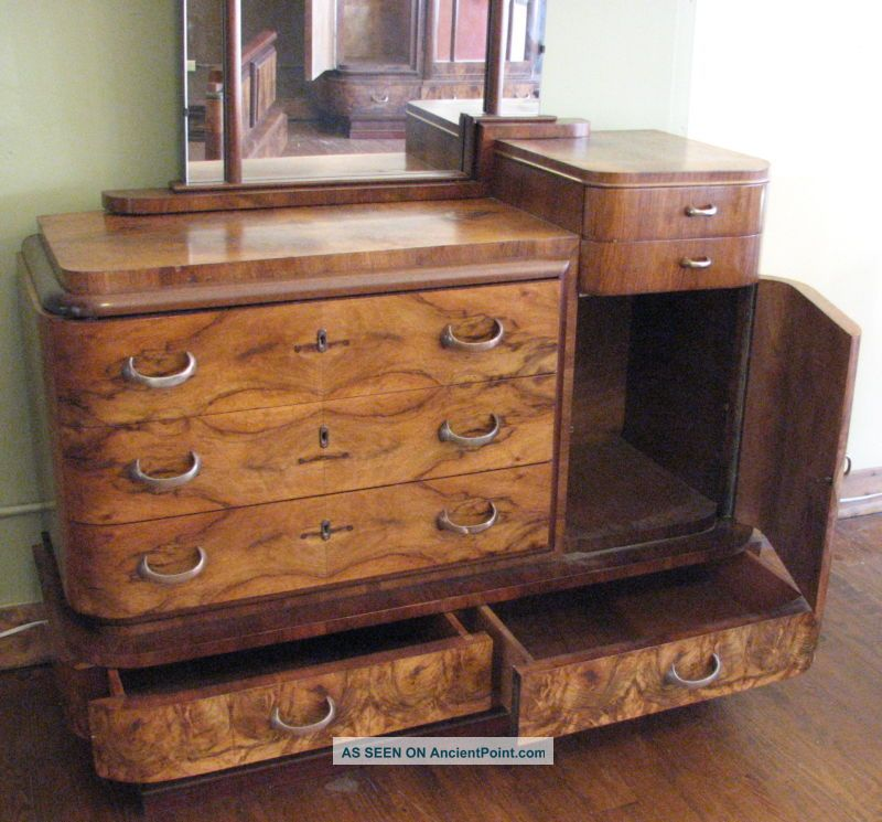 Antique Bedroom Sets : Great Antique Italian Deco Bedroom Set 1900-1950 photo 4