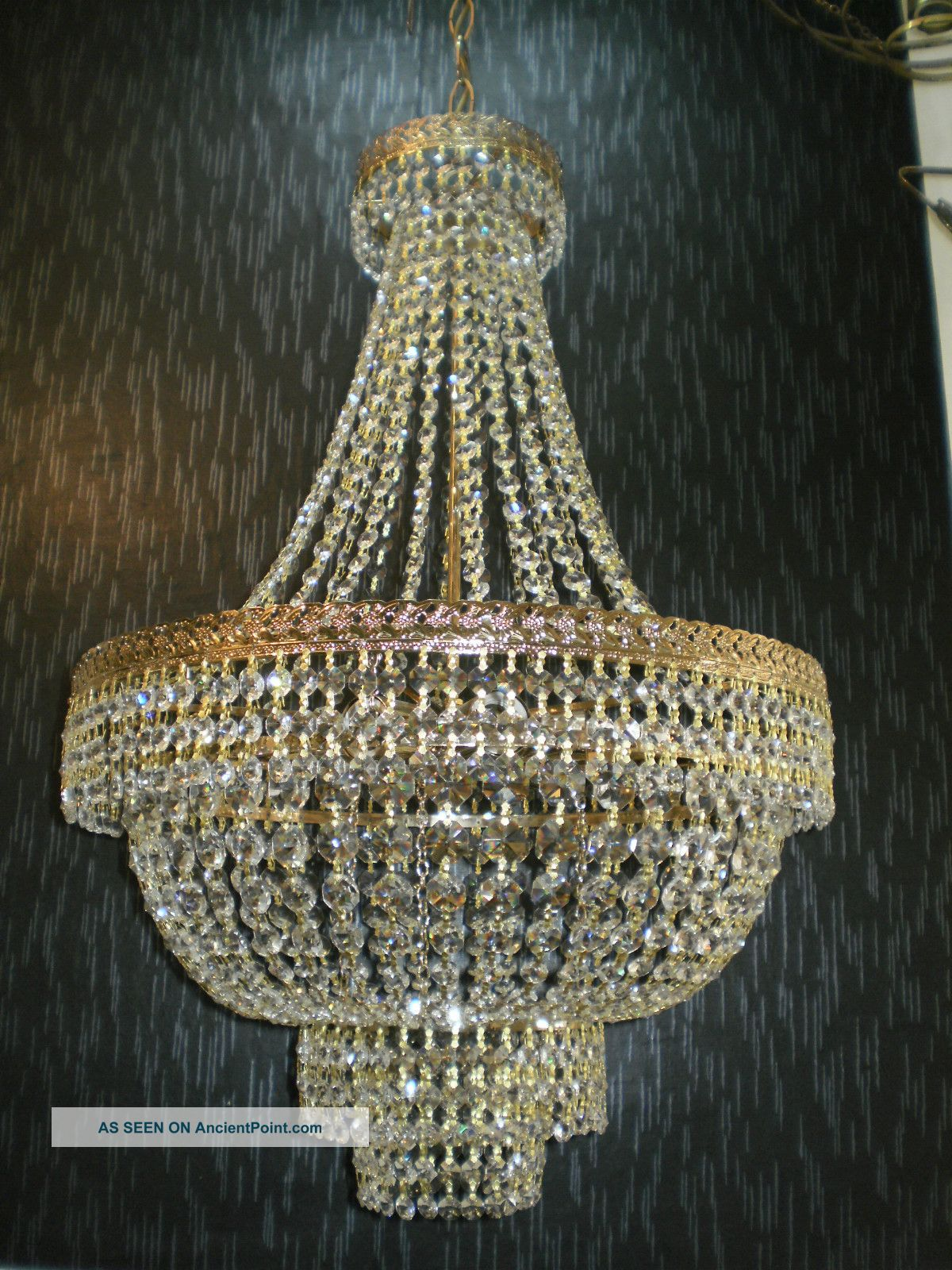 Large antique chandelier chandelier designs vintage 20 large antique brass crystal chandelier lighting arubaitofo Image collections