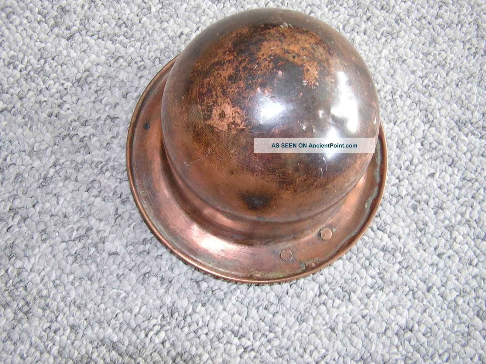 Antique liberty electric copper wax melting pot 1930 s metalware