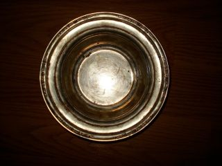 Vintage Wallace Sterling Silver Nut Or Candy Bowl photo