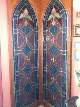 Antique Stained Glass Windows photo