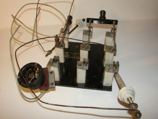 Vintage General Electric Antenna/ground Knife Switch Assembly photo