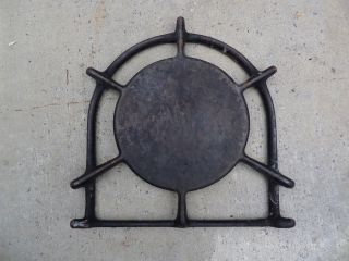 Vintage Wedgewood Gas Stove Parts - One Stove Top Black Classic Burner Grate photo