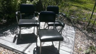 Chairs Waiting Room,  Barber,  Auto Repair 60 ' S 70 ' S Style photo