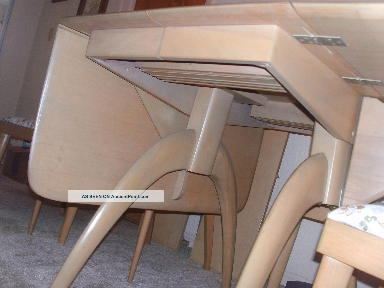 Dining Table Heywood Wakefield Dining Table Hutch