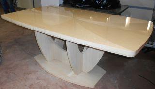 Art Deco Style Light Oak Veneer 78 1/2