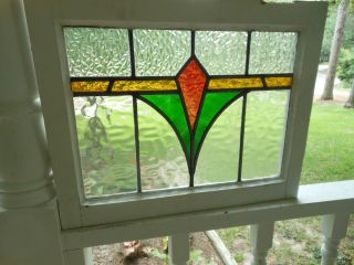 78 Multi - Colored Leaded Stained Glass Window From England 3 Available photo