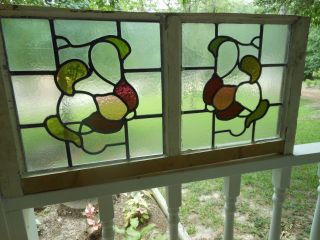 147 Victorian Era Leaded Stained Glass