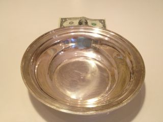 Collector Sterling Silver Large Bowl 9