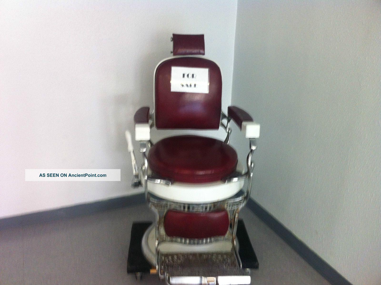 1920 S Koken Barber Chair