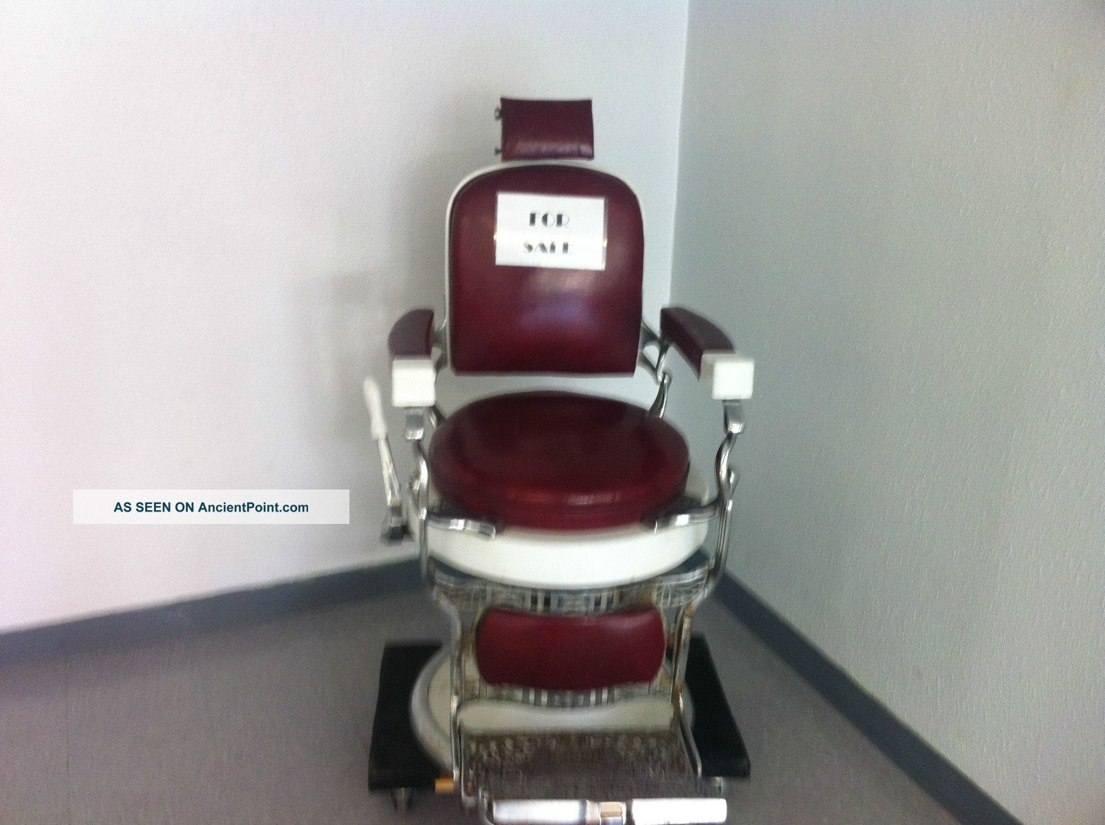 porcelain chair props koken green accessories barber beauty