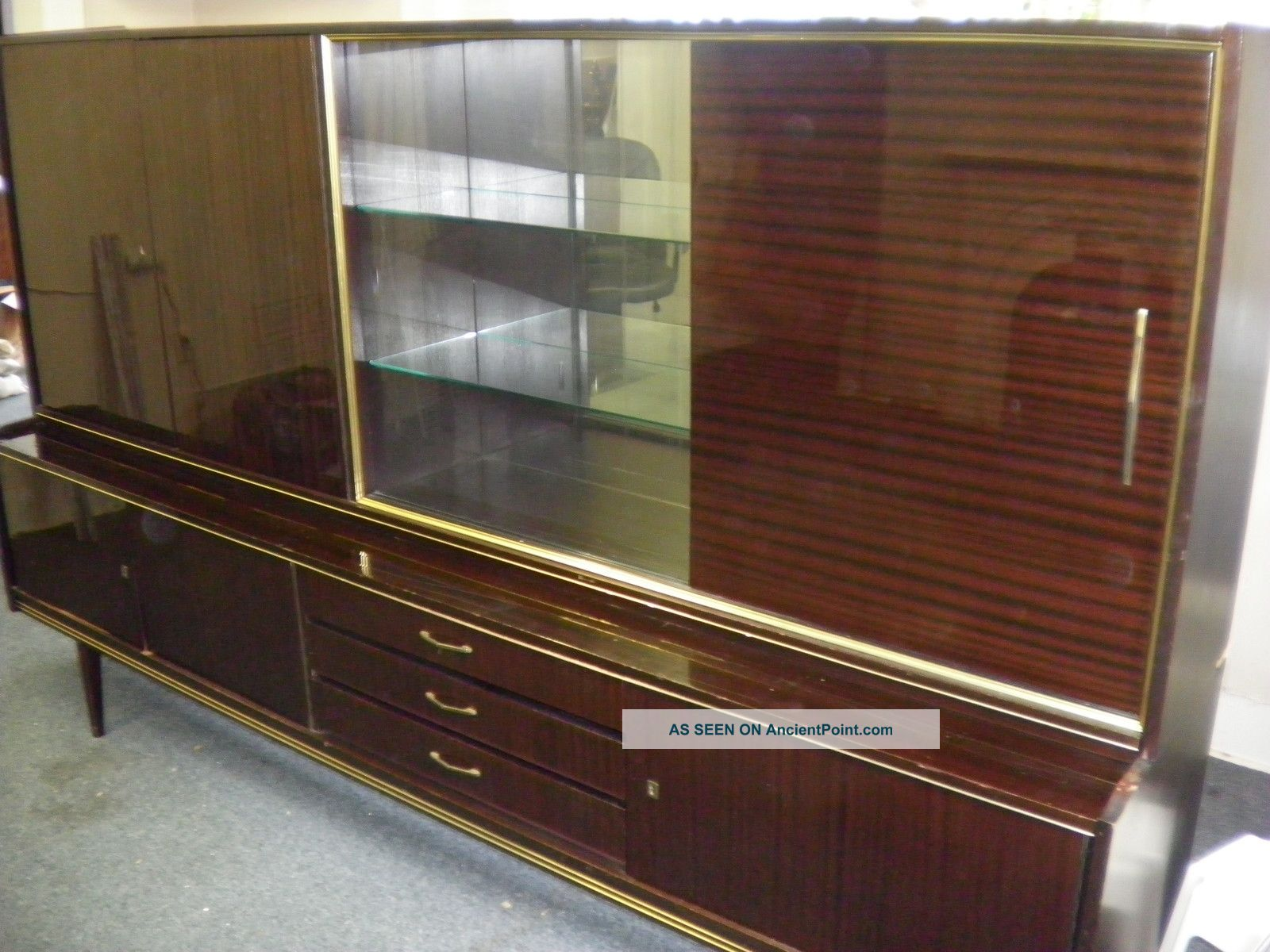 Vintage 1960 ' S Cabinet Made In Germany Post-1950 photo